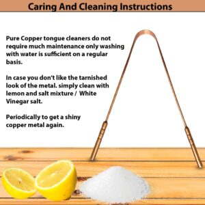Pure copper tongue cleaner, Copper tongue cleaner, Copper tongue cleaner scraper, Copper Tongue cleaner, best copper tongue scraper, copper tongue scraper Ayurveda, copper tongue scraper benefits, copper tongue scraper, Copper tongue cleaner set of 2, Copper tongue scraper set of 2, Pure copper tongue cleaner set of 2