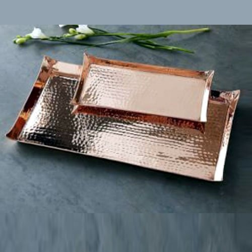 Hammered Pure Copper Tray